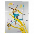 Gummizugmappe A4 Move yellow Herlitz