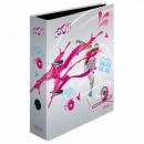 Ordner A4 breit MOVE-IT pink HERLITZ