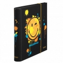 Ordner 5 cm SMILEY EDITION black HERLITZ