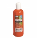 Acrylfarbe zinnoberrot 250ml
