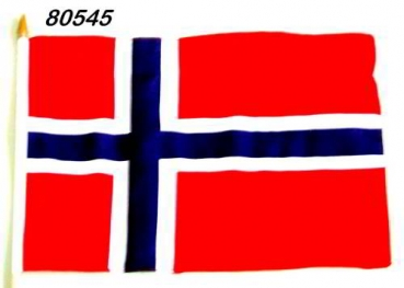 Stockflagge NORWEGEN