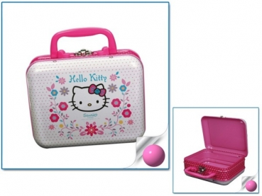 HELLO KITTY Metallkoffer ca. 16 x 13 x 6,5 cm