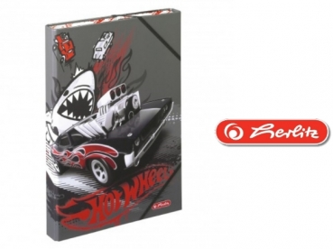 Herlitz Heftbox A4 HOT-WHEELS III
