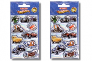 Stickers 3D HOT WHEELS Herlitz