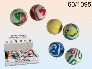 Flummiball 45 mm MELTING COLORS